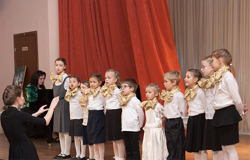 children choir studio